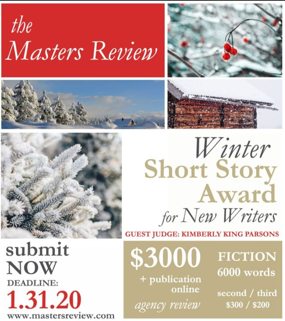 winter short story award
